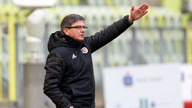 Trener Piasta Gliwice Waldemar Fornalik