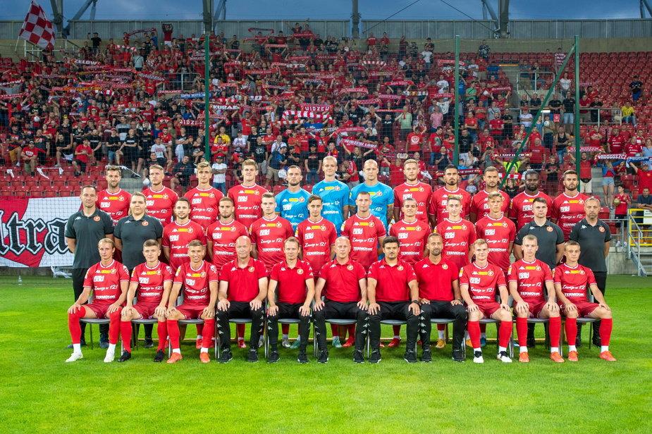 Prezentacja drużyny Widzewa na sezon 21 22