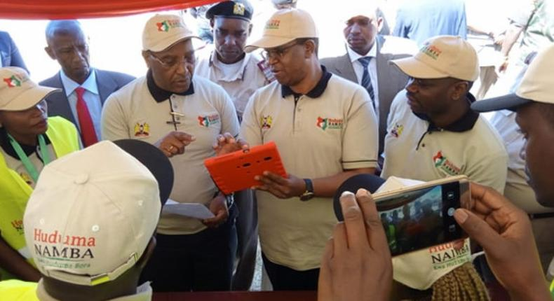 Huduma Namba registration process