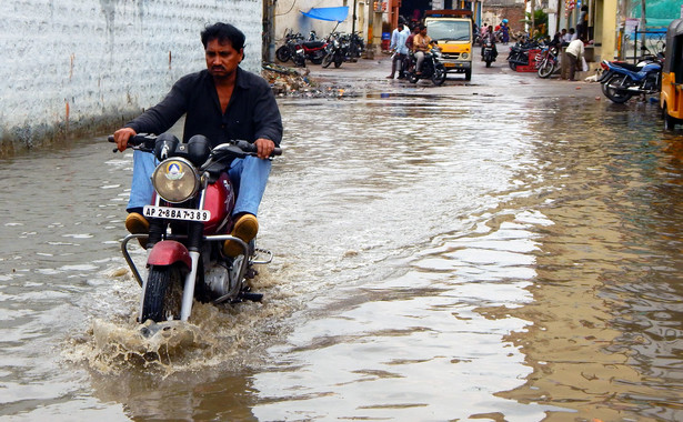 Powódź w Indiach