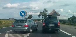 Szalony kierowca nagrany na ulicach Piły!