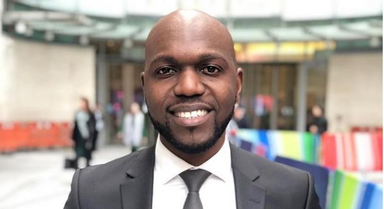 Hilarious responses after fan asks Larry Madowo why he keeps beards with a bald head
