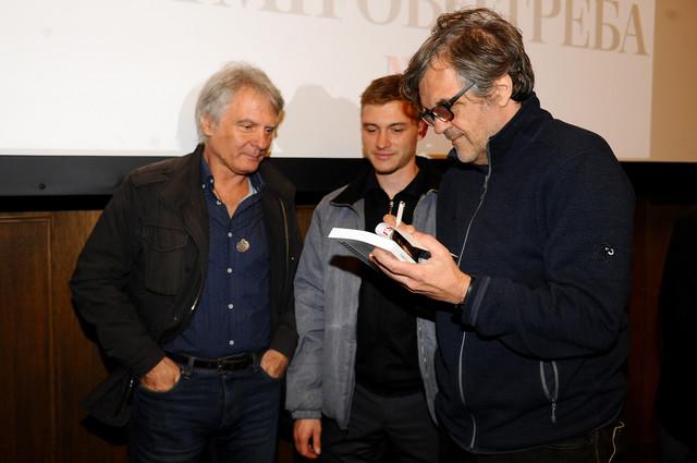 """Emir Kusturica potpisuje knjigu """"Šta mi je ovo trebalo"""" Duletu Saviću u Jugoslovenskoj kinoteci"""