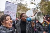 Pariz, protest, zene, EPA -  CHRISTOPHE PETIT TESSON