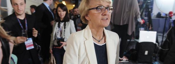Danuta Hubner została wybrana przewodniczącą komisji spraw konstytucyjnych