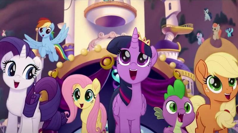 """""""My Little Pony. Film"""": kadr z filmu"""