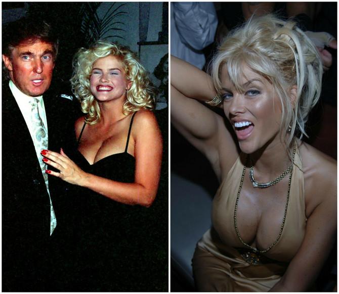 Donald Tramp i En Nikol Smit