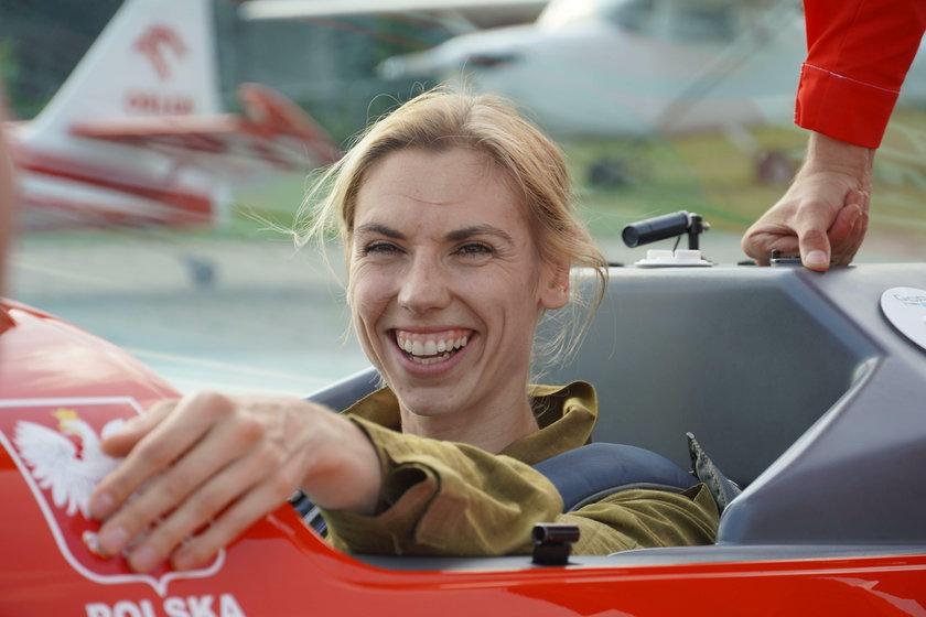 Iga Baumgart-Witan wykonywała pętle w powietrzu. Lot był intensywny i bardzo jej się podobał
