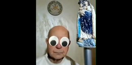 Księżom włączają się śmieszne filtry podczas mszy na Facebooku