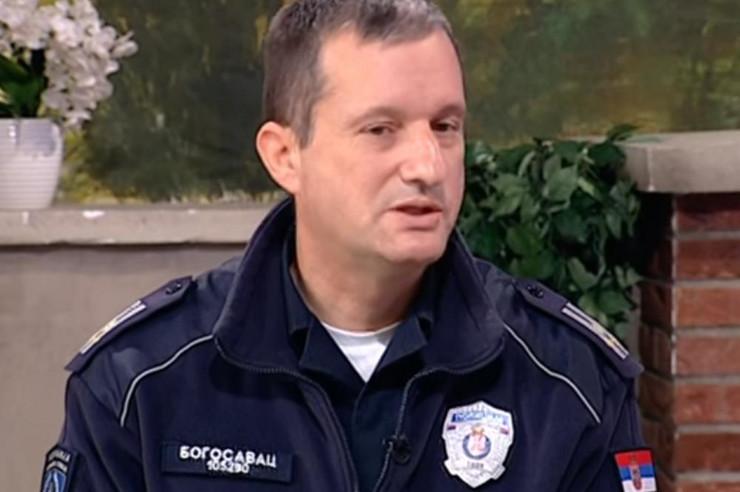 Načelnik saobraćajne policije Beograda Dragan Bogosavac