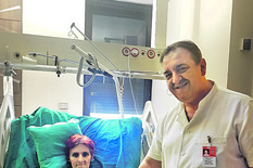 ŽENI IZVUČEN TUMOR OD 25 KG Aleksandra se sada oporavlja, a kad vidite SLIKU TUMORA shvatićete koliki je to bio PODVIG naših lekara