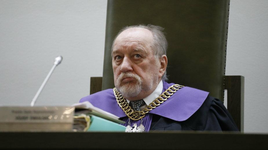 Prezes Izby Pracy SN Józef Iwulski