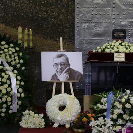 Pogrzeb Grzegorza Miecugowa. Gwiazdy pożegnały dziennikarza