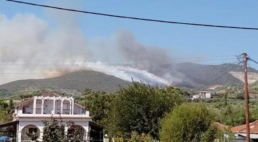 Pożar na greckiej wyspie Zakynthos. Ewakuowano turystów