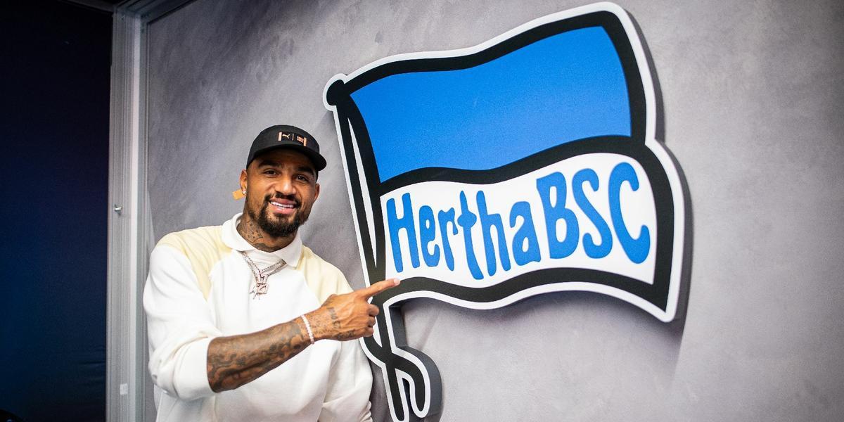 Kevin-Prince Boateng rejoins boyhood club Hertha Berlin
