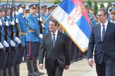 Aleksandar Vučić, kiparski predsednik Nikos Anastasijadis
