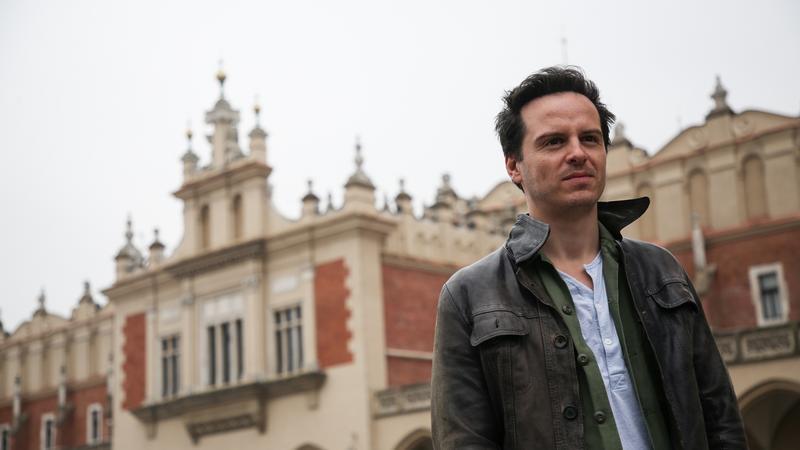 Andrew Scott w Krakowie