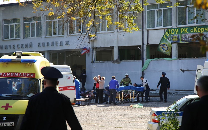 Wybuch i strzelanina na Krymie. Za masakrą w szkole w Kercz stał uczeń?