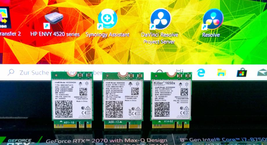 Ratgeber: Notebook für 13 Euro auf Wifi-6 aufrüsten
