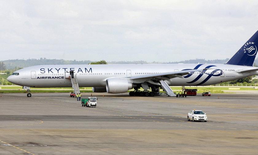 Samolot linii Air France lądował awaryjnie w Mombasie