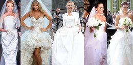 Gwiazdy biorą śluby. Która najładniej wyglądała?