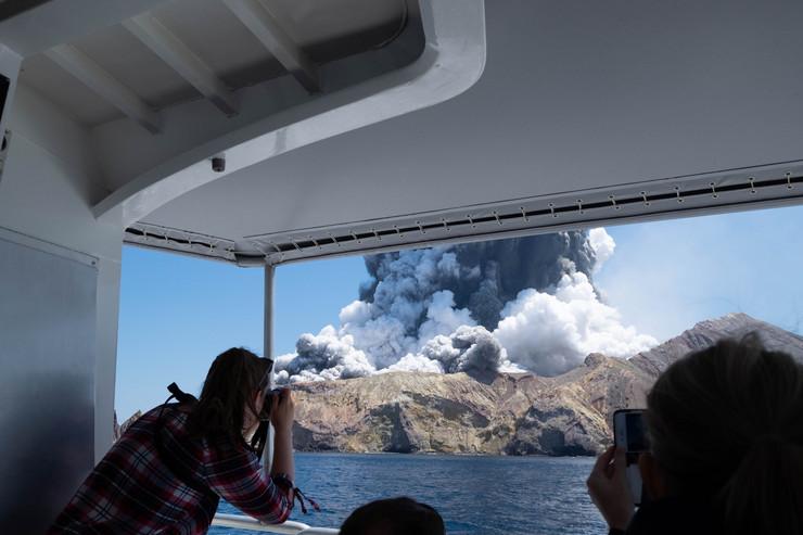 novi zeland vulkan foto Tanjug AP