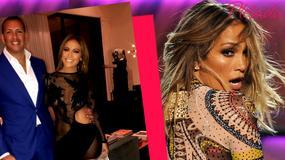 Jennifer Lopez świętuje urodziny w bardzo odważnej sukience. Dekolt odciągnął uwagę od seksownych nóg