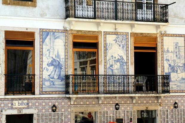 Lizbona, Azulejos