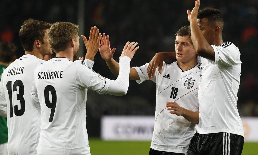 Niemcy, awans na mundial