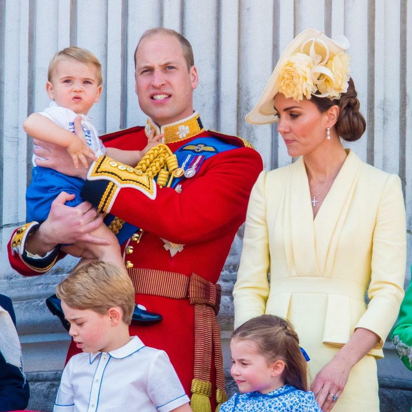 Kate i William z rodziną