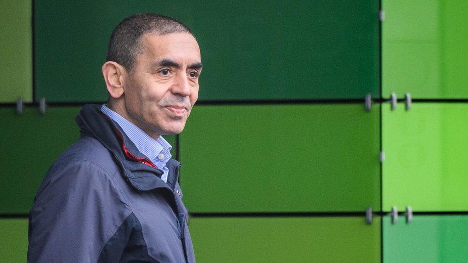 Ugur Sahin, założyciel firmy BionNTech