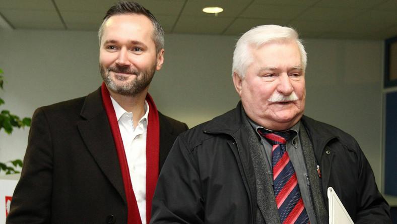 Jarosław Wałęsa i Lech Wałęsa