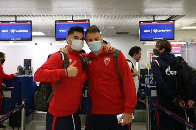 FK Crvena zvezda, odlazak na Kipar