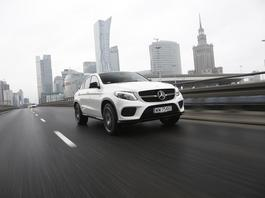 Mercedes GLE Coupe 450 AMG 4Matic - wielkie i zwinne coupe