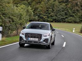Audi Q2 po liftingu – teraz trochę nowsze