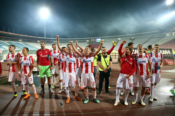 Slavlje crveno-beli posle pobede nad Vranjancima na startu Superlige