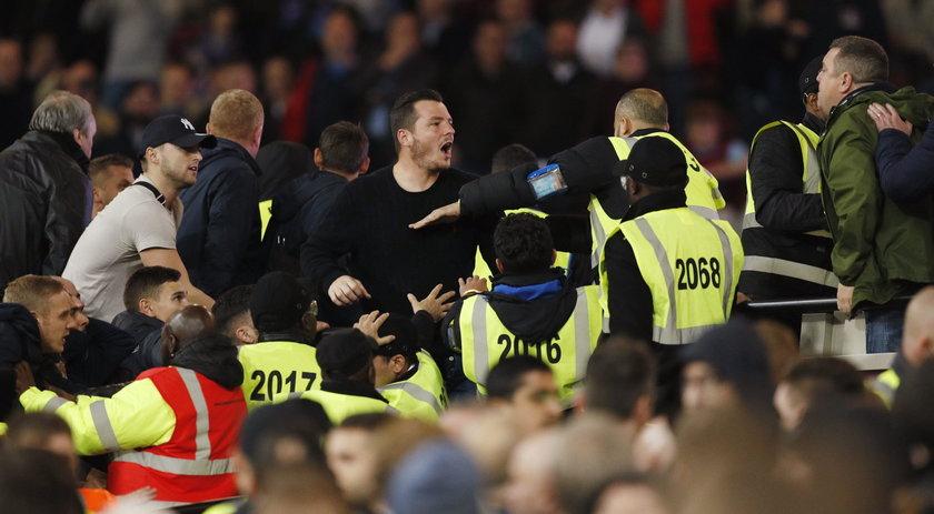 Ostra jatka na stadionie w Anglii. A oni czepiają się Polaków