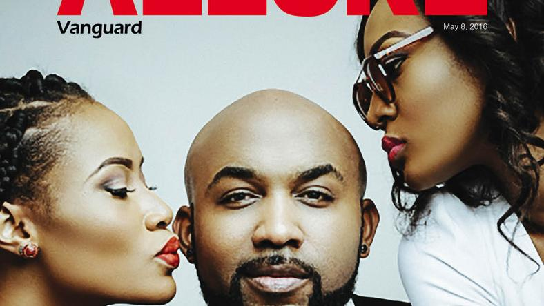 Ladies man, Banky W, for Vanguard Allure May 2016 Cover