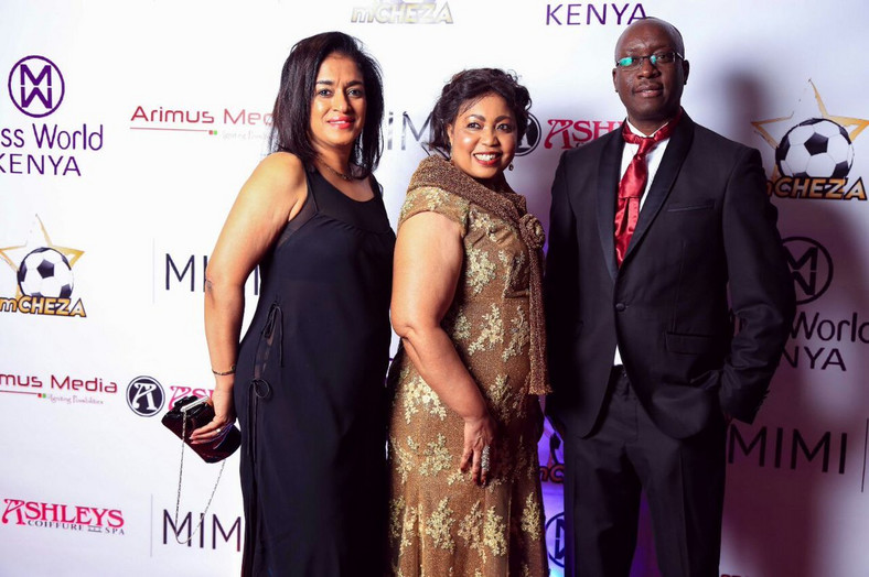Esther Passaris with friends