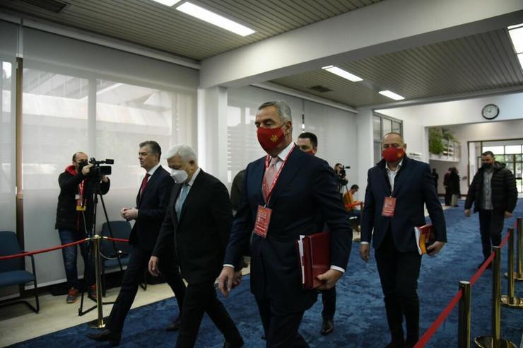 Milo Đuaknović DPS kongres