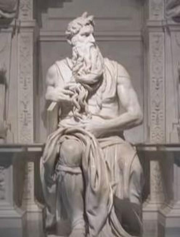 Skulptura Mojsije