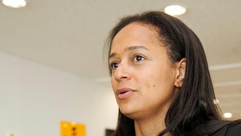 Isabel dos Santos, the daughter of Angolan President Jose Eduardo dos Santos and head of state energy giant Sonangol, speaks during an interview in Luanda, Angola June 9, 2016.