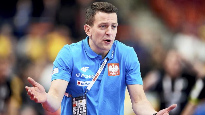 Trener Polaków Patryk Rombel