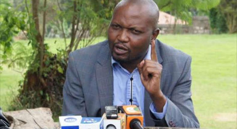 I hope William Ruto's meeting was not discussing my assassination - Moses Kuria