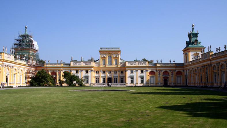 Zamek Królewski łazienki Wilanów I Wawel W Listopadzie Za