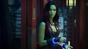 Zielona Zoe Saldana ratuje galaktykę