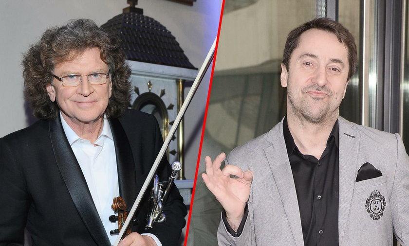 Zbigniew Wodecki i Marcin Miller