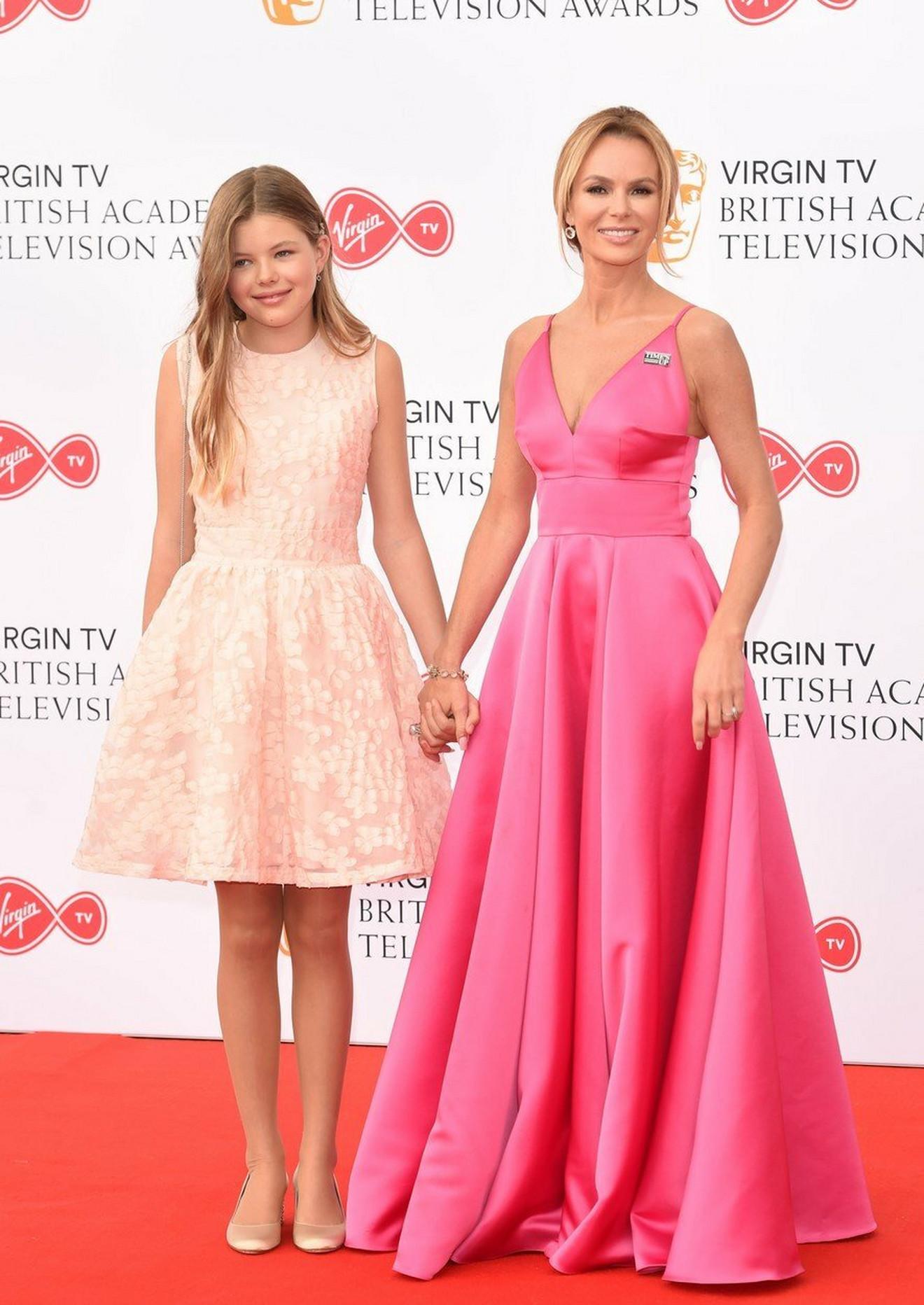 Amanda Holden i njena ćerka Aleksa