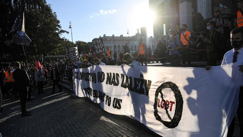 Marsz narodowców w 100. rocznicę Bitwy Warszawskiej