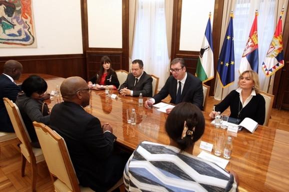 Delegacije Srbije i Lesota